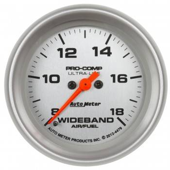 "Auto Meter - Auto Meter 2-5/8"" Ultra-Lite Wideband Air/Fuel Ratio Gauge"