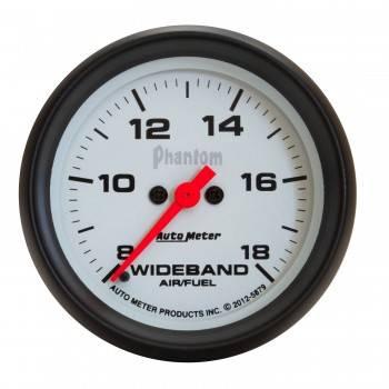 Auto Meter - Auto Meter 2-5/8 Phantom Wideband Air/Fuel Gauge