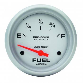 Auto Meter - Auto Meter Ultra-Lite Electric Fuel Level Gauge - 2-5/8 in.