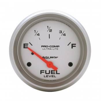 Auto Meter - Auto Meter Ultra-Lite Electric Fuel Level Gauge - 2-5/8 in.