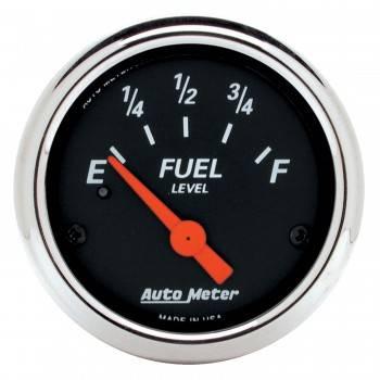 Auto Meter - Auto Meter Designer Black Fuel Level Gauge - 2-1/16 in.