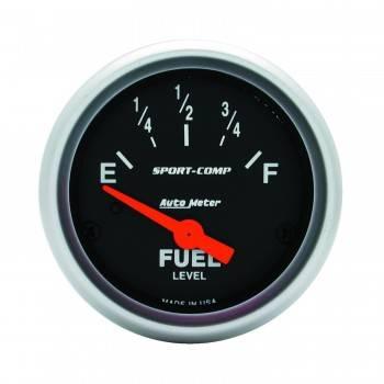 Auto Meter - Auto Meter Sport-Comp Electric Fuel Level Gauge - 2-1/16 in.
