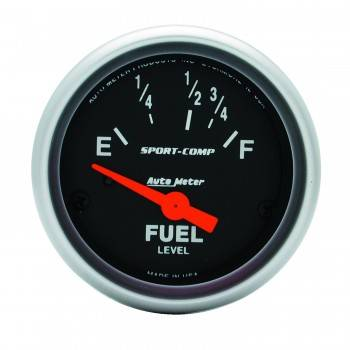 Auto Meter - Auto Meter Sport-Comp Electric Fuel Level Gauge - 2-1/16 in.