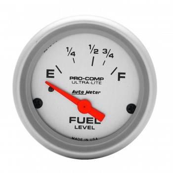 Auto Meter - Auto Meter Ultra-Lite Electric Fuel Level Gauge - 2-1/16 in.