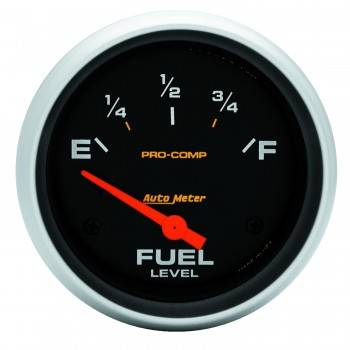 Auto Meter - Auto Meter Pro-Comp Electric Fuel Level Gauge - 2 1/8 in.