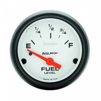 Auto Meter - Auto Meter Phantom Electric Fuel Level Gauge - 2-1/16 in.