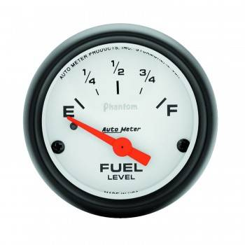 Auto Meter - Auto Meter Phantom Electric Fuel Level Gauge - 2-1/16 in.