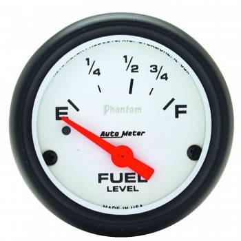 Auto Meter - Auto Meter Phantom Electric Fuel Level Gauge - 2 1/8 in.