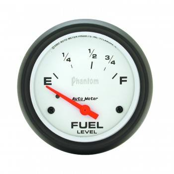 Auto Meter - Auto Meter Phantom Electric Fuel Level Gauge - 2 1/8 in.