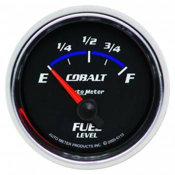Auto Meter - Auto Meter Cobalt Electric Fuel Level Gauge - 2-1/16 in.