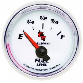 Auto Meter - Auto Meter C2 Electric Fuel Level Gauge - 2-1/16 in.