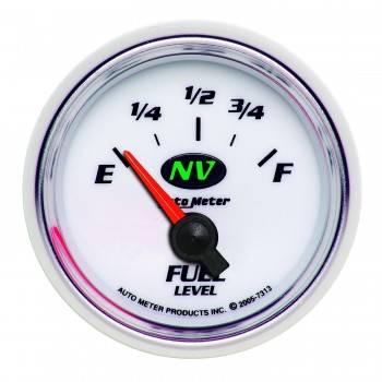 Auto Meter - Auto Meter NV Electric Fuel Level Gauge - 2-1/16 in.
