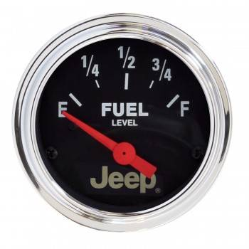 Auto Meter - Auto Meter 2-1/16 Fuel Level Gauge 0-90Ohms - Jeep Series