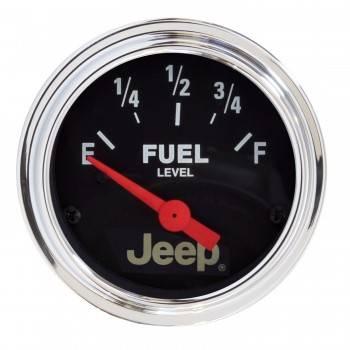 Auto Meter - Auto Meter 2-1/16 Fuel Level Gauge 73-8-12Ohms - Jeep Serie