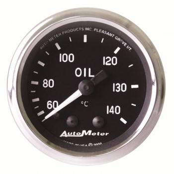 Auto Meter - Auto Meter Cobra Mechanical Oil Temperature Gauge - 2-1/16""