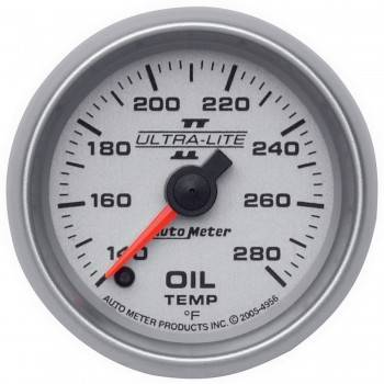 Auto Meter - Auto Meter Ultra-Lite II Electric Oil Temperature Gauge - 2-1/16""