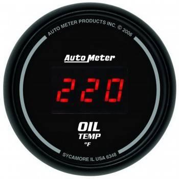 Auto Meter - Auto Meter Sport-Comp Digital Oil Temperature Gauge - 2-1/16 in.
