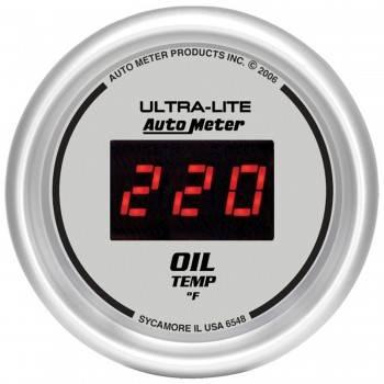 Auto Meter - Auto Meter Ultra-Lite Digital Oil Temperature Gauge - 2-1/16 in.