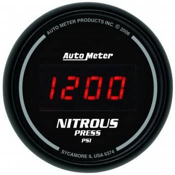 Auto Meter - Auto Meter Sport-Comp Digital Nitrous Pressure Gauge - 2-1/16 in.