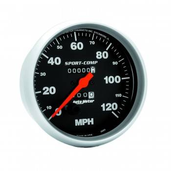 Auto Meter - Auto Meter Sport-Comp In-Dash Mechanical Speedometer - 5 in.