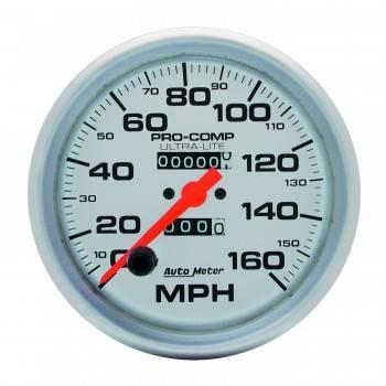 Auto Meter - Auto Meter Ultra-Lite In-Dash Mechanical Speedometer - 5 in.
