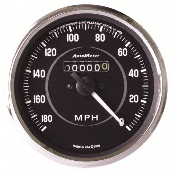 Auto Meter - Auto Meter Cobra In-Dash Mechanical Speedometer - 4 in.