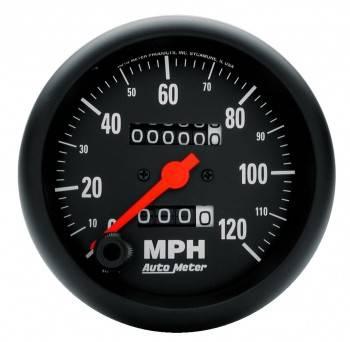 Auto Meter - Auto Meter Z-Series In-Dash Mechanical Speedometer - 3-3/8 in.