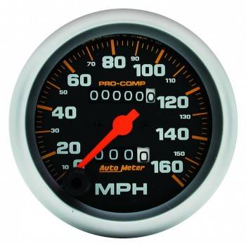 Auto Meter - Auto Meter Pro-Comp Mechanical In-Dash Speedometer - 3-3/8 in.