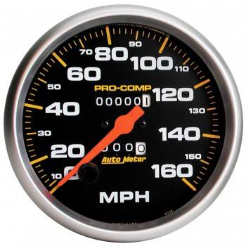 Auto Meter - Auto Meter Pro-Comp Mechanical In-Dash Speedometer - 5 in.