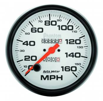 Auto Meter - Auto Meter Phantom In-Dash Mechanical Speedometer - 5 in.