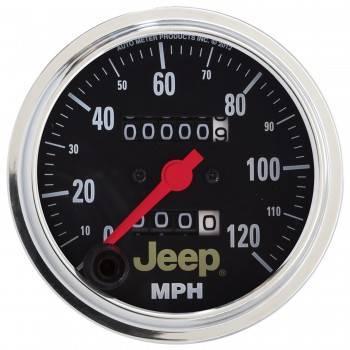 Auto Meter - Auto Meter 3-3/8 120MPH Speedometer- Jeep Series
