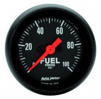 "Auto Meter - Auto Meter Z-Series Electric Fuel Pressure Gauge - 2-1/16"""