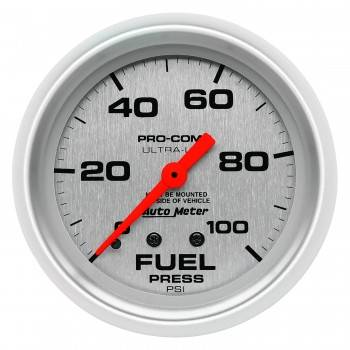 Auto Meter - Auto Meter Ultra-Lite Mechanical Fuel Pressure Gauge - 2-5/8""