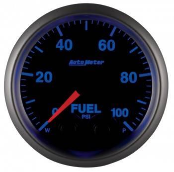 "Auto Meter - Auto Meter Elite Series Fuel Pressure Gauge - 2-1/16"""