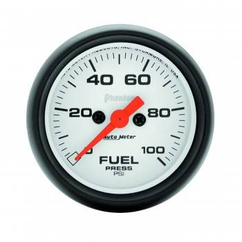 Auto Meter - Auto Meter Phantom Electric Fuel Pressure Gauge - 2-1/16""