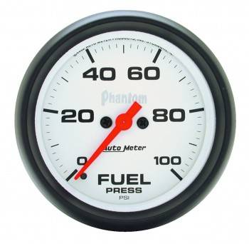 Auto Meter - Auto Meter Phantom Electric Fuel Pressure Gauge - 2-5/8""