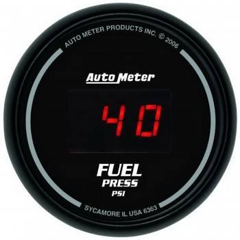Auto Meter - Auto Meter Sport-Comp Digital Fuel Pressure Gauge - 2-1/16 in.