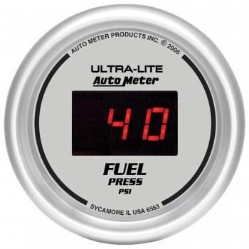 Auto Meter - Auto Meter Ultra-Lite Digital Fuel Pressure Gauge - 2-1/16 in.