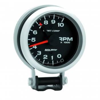 "Auto Meter - Auto Meter 10,000 RPM Sport-Comp Tachometer - 3-3/4"""