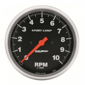 """Auto Meter - Auto Meter 10,000 RPM Sport-Comp 5"""" In-Dash Tachometer"""