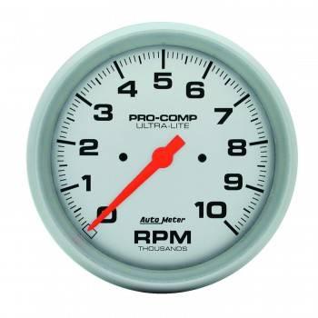 "Auto Meter - Auto Meter 10,000 RPM Ultra-Lite 5"" In-Dash Tachometer"