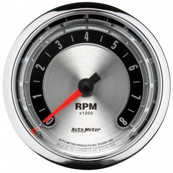 Auto Meter - Auto Meter American Muscle Tachometer - 3-3/8""