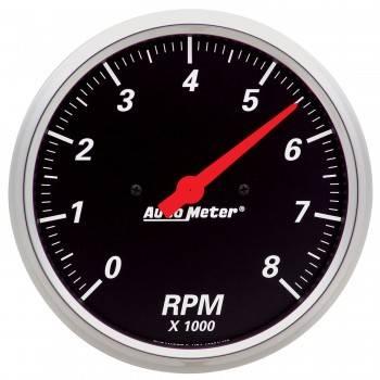 "Auto Meter - Auto Meter Designer Black Street Rod Tachometer - 5"""