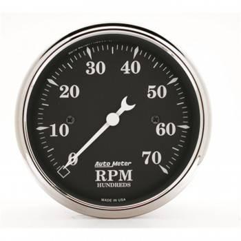 "Auto Meter - Auto Meter Old Tyme Black Electric Tachometer - 3-1/8"""