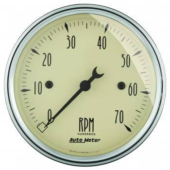 """Auto Meter - Auto Meter Antique Beige Electric Tachometer - 3-1/8"""""""