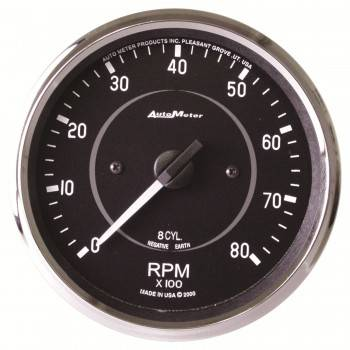 Auto Meter - Auto Meter Cobra In-Dash Electric Tachometer - 4""
