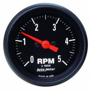 Auto Meter - Auto Meter Z-Series In-Dash Electric Tachometer - 2-1/16""