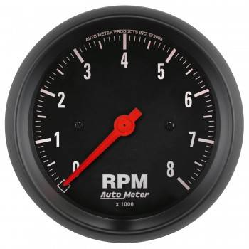 Auto Meter - Auto Meter Z-Series In-Dash Electric Tachometer - 3-3/8""