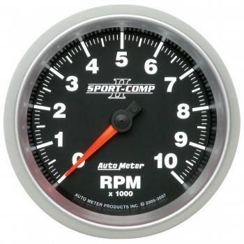 "Auto Meter - Auto Meter 3-3/8"" Sport-Comp II In-Dash Tachometer - 10,000 RPM"