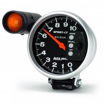 "Auto Meter - Auto Meter 10,000 RPM Sport-Comp 5"" Monster Tachometer"
